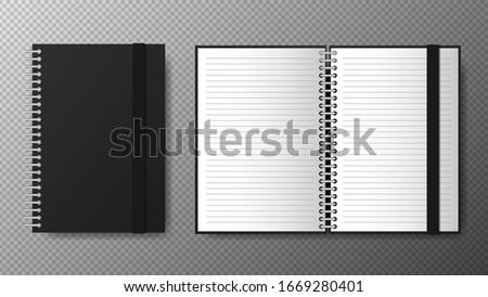 notepad · schrijfbehoeften · houten · ontwerper · business · studie - stockfoto © galitskaya