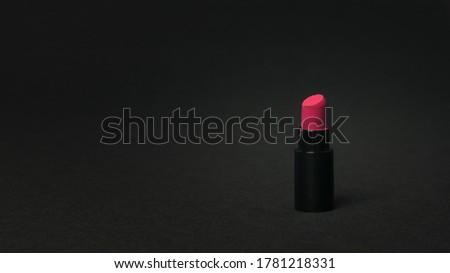 Mode foto vrouw gezicht heldere Rood Stockfoto © serdechny