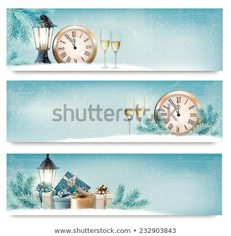 装飾的な ランタン レトロな ベクトル ストックフォト © pikepicture