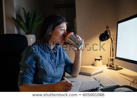 przedsiębiorców · pitnej · kawy · dwa · działalności · kobiet - zdjęcia stock © dolgachov