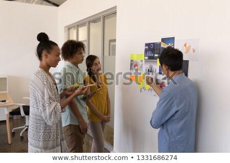 Iş arkadaşları strateji Stok fotoğraf © wavebreak_media