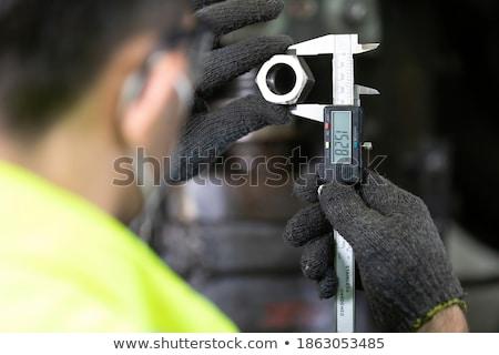 Człowiek narzędzi rozmiar cyfrowe Zdjęcia stock © AndreyPopov