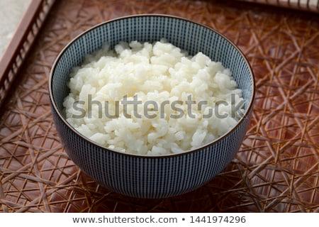 Japanese tè articoli per la tavola pietra tavola Foto d'archivio © karandaev
