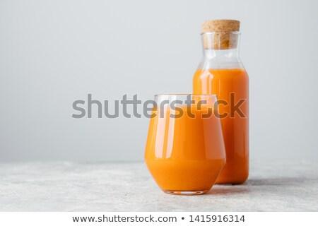 Fresche bottiglia sughero vetro isolato Foto d'archivio © vkstudio