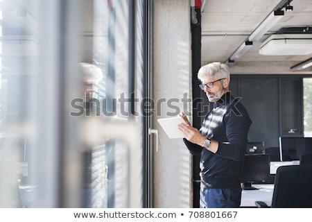 Stylish mature entrepreneur Stock photo © pressmaster