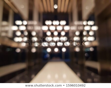 Contemporary glass chandelier premium ceiling Stock photo © ruslanshramko