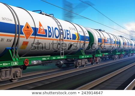 camion · autoroute · grand · carburant · gaz · piste - photo stock © hasenonkel