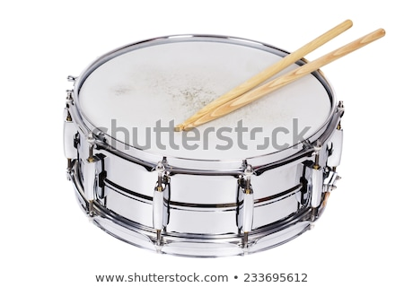 Snare Drum Isolated on White Stock photo © mkm3