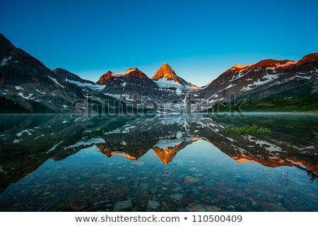 Góry Kanada jezioro brytyjski Zdjęcia stock © skylight