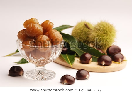 Cristalizado comida doce doce marrom Foto stock © dutourdumonde