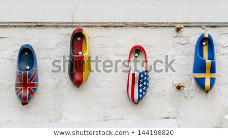 Four Colorful Jacks Lined Up Stock photo © mybaitshop