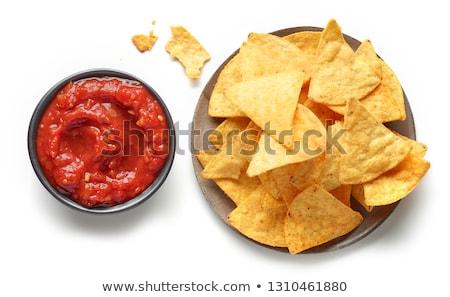 nero · bean · salsa · ciotola · alimentare - foto d'archivio © fotogal