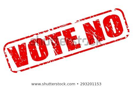 Adam oylama kutu beyaz Stok fotoğraf © Dizski