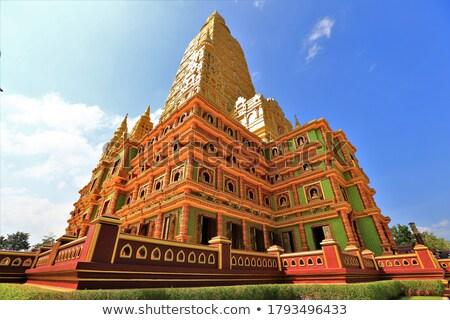 Tailandia cielo edificio verano culto orar Foto stock © Witthaya