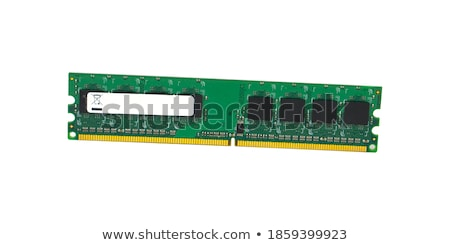 Stock photo: Modern DDR3 DIMM memory module