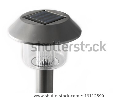 solar-powered gard lamp stock photo © papa1266