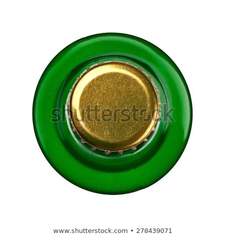 Verde topo macro imagem frio Foto stock © sumners