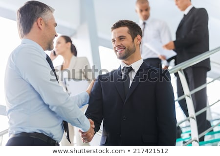 Two intelligent businessmen Stock photo © photography33
