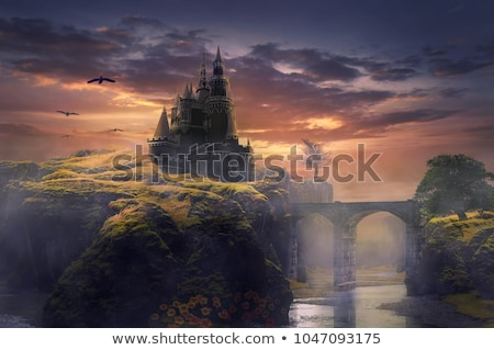 castles in the sky stock photo © albund
