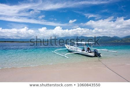 Balinese boat Stock photo © Ronen