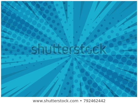 Retro Exploding Blue Background Stock photo © Lightsource