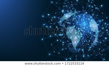 Globalny sieci komunikacja symbol Zdjęcia stock © Lightsource
