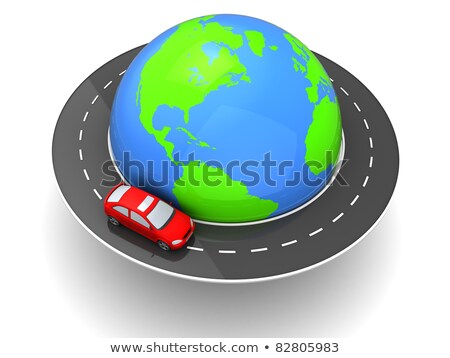 cars driving around the earth stock photo © iqoncept