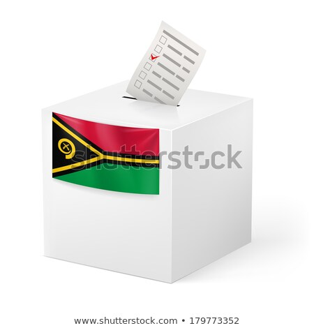Ballot box Vanuatu Stock photo © Ustofre9