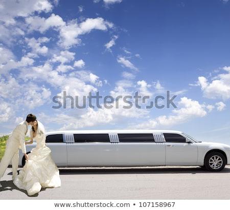 Stock photo: Limousine For Wedding