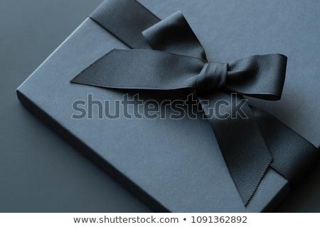 birthday card with gift box Stock photo © balasoiu