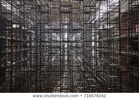 足場 パターン 鉄 色 抽象的な ストックフォト © gophoto