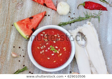 Stock fotó: Görögdinnye · étel · piros · dzsúz · desszert · leves