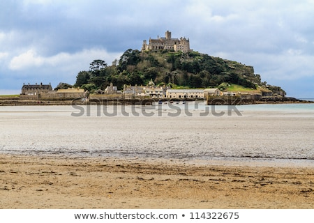 Village cornwall vue plage ciel eau Photo stock © Bertl123