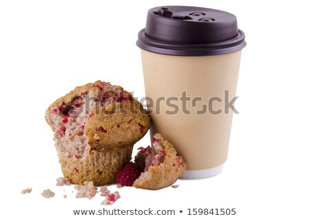 Restaurant Background With Muffins And Coffee Stock photo © adamson