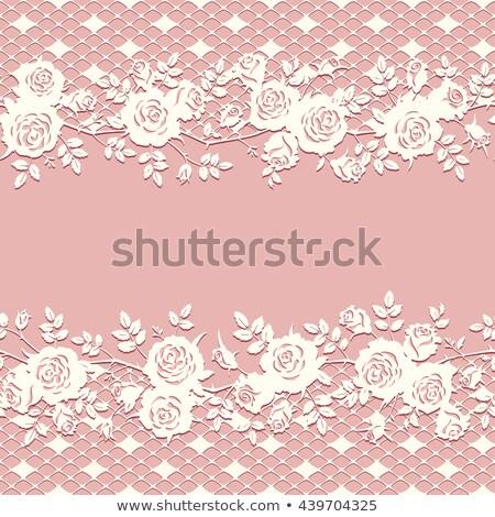 バラ グリッド みすぼらしい 色 花 テクスチャ ストックフォト © HypnoCreative