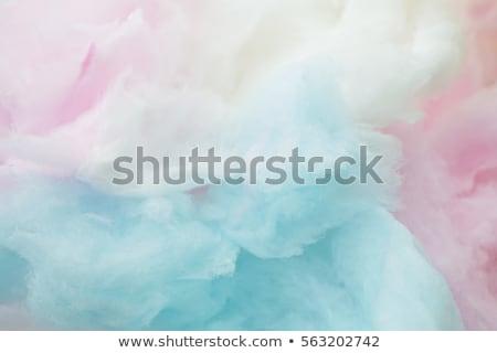 rosa · algodão · doce · macro · crianças · nuvem - foto stock © bdspn