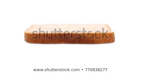 gebarsten · zout · geïsoleerd · witte · gebroken · niemand - stockfoto © zhekos