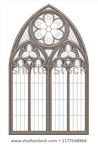 Medieval window Stock photo © alessandro0770