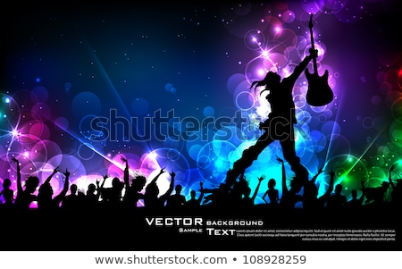 young teenager star on stage stock photo © stokkete