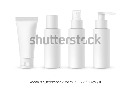 Set of 4 package templates Stock photo © Lota