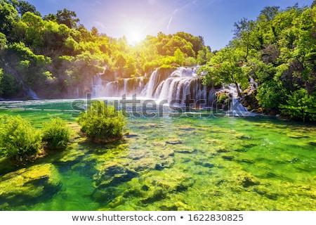 滝 クロアチア 美しい 公園 水 自然 ストックフォト © bayberry