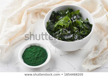 mar · tigela · tabela · médico · natureza · verde - foto stock © yelenayemchuk