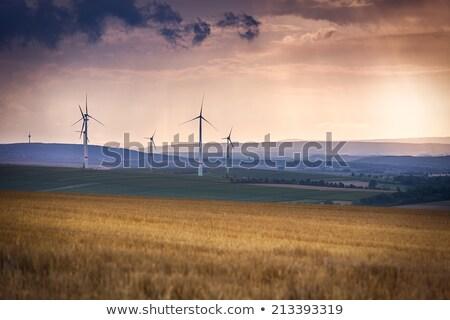 rüzgâr · manzaralı · manzara · sokak · teknoloji · yeşil - stok fotoğraf © fisfra