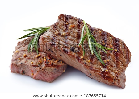 Cut-out barbecue on white background Stock photo © epstock