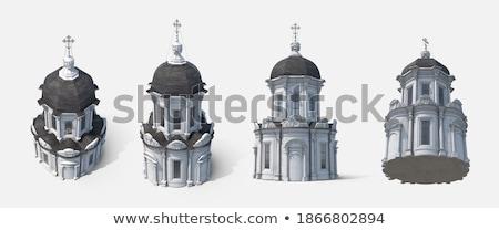 Orthodoxe chapelle parc historique vieux ciel Photo stock © meinzahn