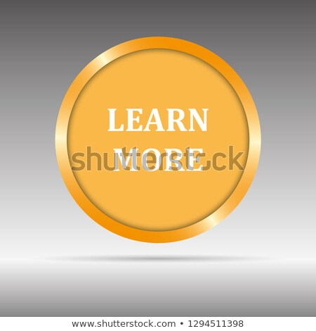 Student Offer Gold Vector Icon Button Stock photo © rizwanali3d