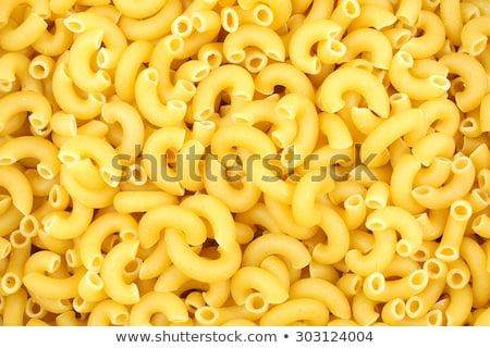 Elbow Macaroni background texture Stock photo © njnightsky