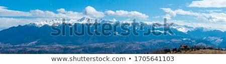 Bucegi mountains winter scenery Stock photo © photosebia