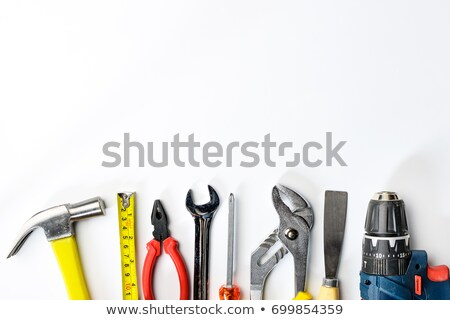 close up of hammer drill stock photo © ifeelstock