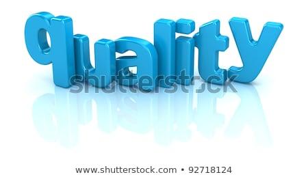 control   white word on blue puzzles stock photo © tashatuvango